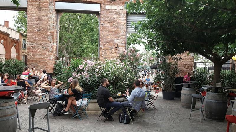La terrasse Jardin Bar Basque par Fleur K, Yelp User